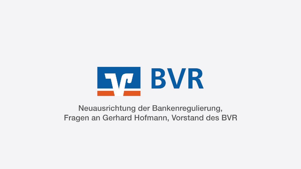 BVR-Vorstand Gerhard Hofmann